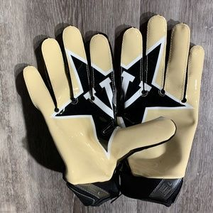 Nike Vapor Jet 3.0 NCAA Vanderbilt Football Gloves